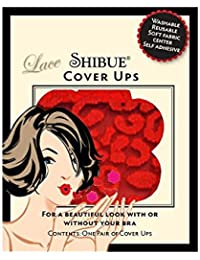 d121b2d7c7dc Shibue Couture Cover Ups-Petal Tip Red-The nipple covers