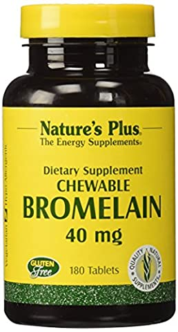 Natures Plus CHEWABLE BROMELAIN 40 MG