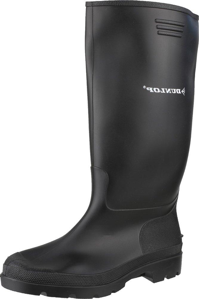 Dunlop 380PP Plain Rubber Pricemastor Footwear Wellingtons Safety Work Shoes 2