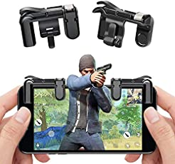 CloudD Mobile Game Fire Button Aim Key Smart Phone Mobile Game Trigger L1R1 Shooter Controller for PUBG for Knives Out Gaming Accessory