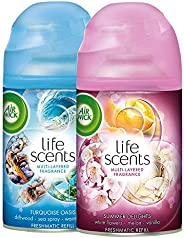 Airwick Freshmatic Refill Life Scents Summer Delights - 250 ml and Airwick Freshmatic Refill Life Scents Turqu