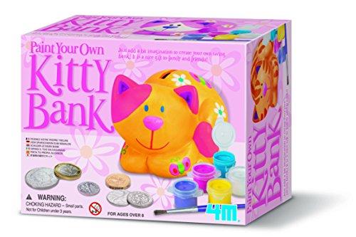 4m Paint Your eigenen Kitty Bank -