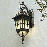 Außenwandlampe Einfache moderne wasserdichte amerikanische Art Kreative Gang Außen Balkon Gartenleuchten