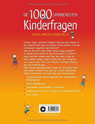 Die 1000 spannendsten Kinderfragen: Was du wirklich wissen willst -