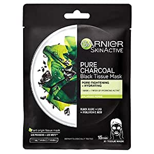 Garnier Charcoal and Algae Hydrating Face Sheet Mask