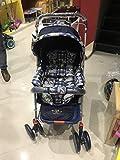 #3: SP Traders Teddy Bear Design Baby Stroller/Pram with Sun Shade Canopy and Wheel Breaks (Brown Teddy Bear)