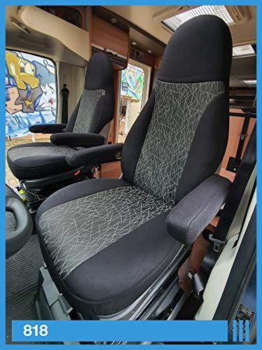 Wohnmobil Sitzbezüge Fahrer & Beifahrer 818