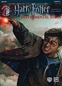 Harry Potter Instrumental Solos: Clarinet (Book & CD) (Pop Instrumental Solo)