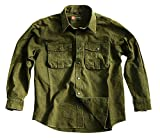 Kakadu Traders Australia Robustes Langarm- Shirt Outdoor Herrenhemd Overshirt McLeod