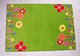 Kinderteppich Blumenwiese 160 x 240 cm