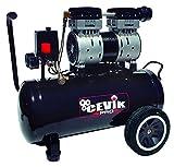 Cevik Pro24silenc Compresor silencioso portátil 24 litros 1.5hp. Ideal para trabajos...