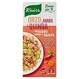 Knorr Cuoci e Gusta Orzo Farro e Quinoa Profumati al Basilico