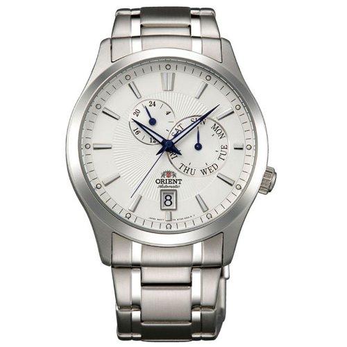 Orient 147-fet0K002W0–Montre de Chevalier, multifonctions, acier, imperméable