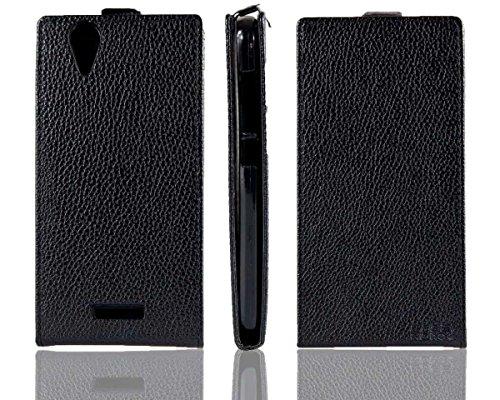 caseroxx Flip Cover für Acer Liquid Z630 Z630S, Tasche (Flip Cover in schwarz)