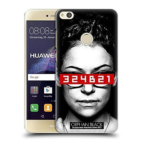 Officiel Orphan Black Clone Code Oeuvre D'art Étui Coque D'Arrière Rigide Pour Huawei P8 Lite (2017)