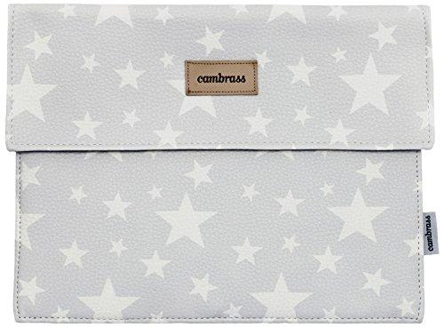 cambrass Etoile Protège-Carnet de Santé Gris 3 x 17 x 25 cm Cambrass