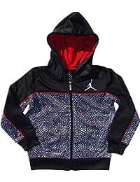 Nike Boys Jordania Therma-fit Elefante impresión con Capucha Chaqueta - 853064-023,