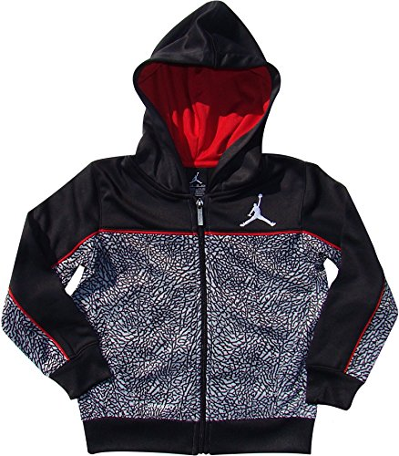 NIKE Boys Jordan Therma-Fit Elephant Print Hooded Jacket -