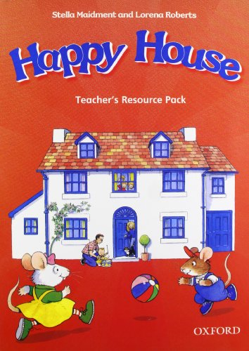 Happy House 1&2: Teacher's Resource Pack (Happy First Edition) - 9780194318372