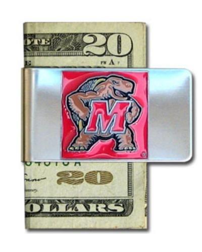 Siskiyou NCAA Stahl Geld Clip, Herren, CMCL64, Maryland Terps (Maryland Clip)