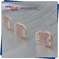 Fotoresistencia (CdS células fotoconductivas) LXD11528 Resistencia Oscuro: 2Mohm/Resistencia a la Luz 8-20Kohm LDRResistente a la Luz