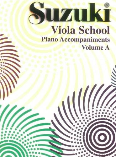 Suzuki Viola School Piano Accompaniments, Volume A (contains Volumes 1 & 2)
