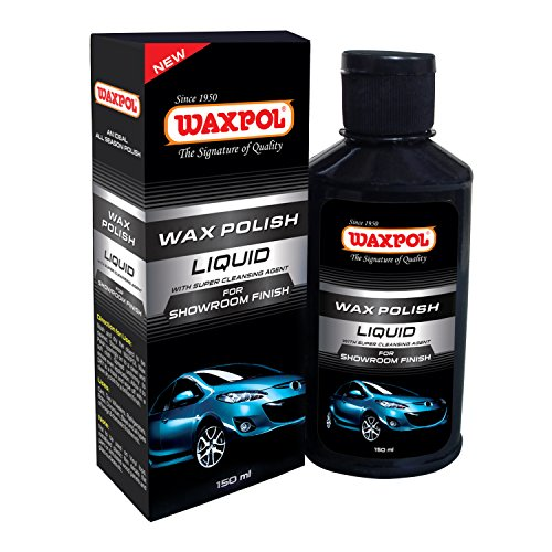 Waxpol ASF820 Showroom Finish Liquid Car Polish (150 ml)