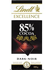 Lindt Excellence Tableta de Chocolate, 85% cacao - 100g