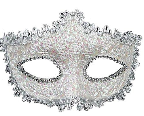 Spitze mit Strass Venezianischen Maske für Frauen Mädchen Kostüm Masquerade Maskenball - Geek Mädchen Kostüm