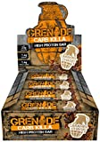 Grenade Carb Killa High Protein and Low Carb Bar, 12 x 60 g - Caramel Chaos