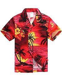 12d58b5bc Chico Hawaiian Aloha Luau camisa y pantalones cortos Set de 2 piezas de  cabaña en Puesta