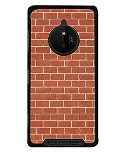 PrintVisa Designer Back Case Cover for Nokia Lumia 830 (Blocks Bars Windows Box Lines )