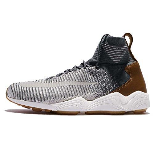 NIKE Zoom Mercurial XI FK Herren Hi Top 844626 Sneakers Turnschuhe (UK 6 US 7 EU 40, Dark Grey Pale Grey 003)