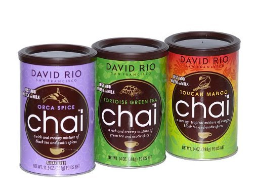 Chai Tea 3 er Set Orce Spice, green Tortoise, Mango