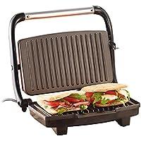 Rosenstein & Söhne - Piastra per panini e sandwich CG-2510, 1000 W