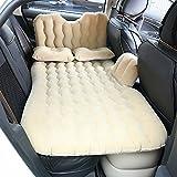 HJJH Autositz-Rücksitz-Matratze, Multifunktionsluftkissen Und Auto-Luftpumpe, Kind-Sicherheits-Schallwand Und 2 Aufblasbares Kissen 2 Aufblasbarer Aufbewahrungsbehälter,Yellow