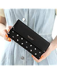 MOCA Black Women's Wallet