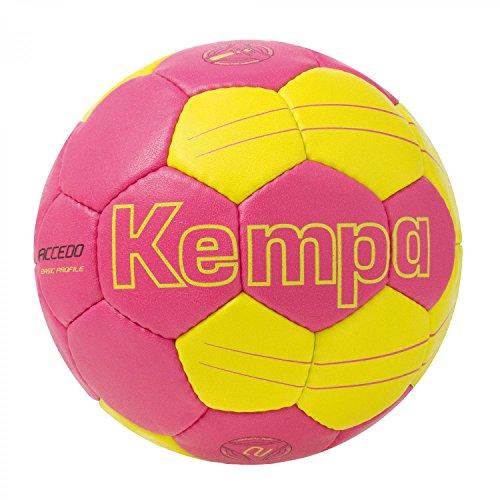 Kempa Ball Accedo Basic Profile, Magenta/Fluo Gelb, 1, 200186308 Image