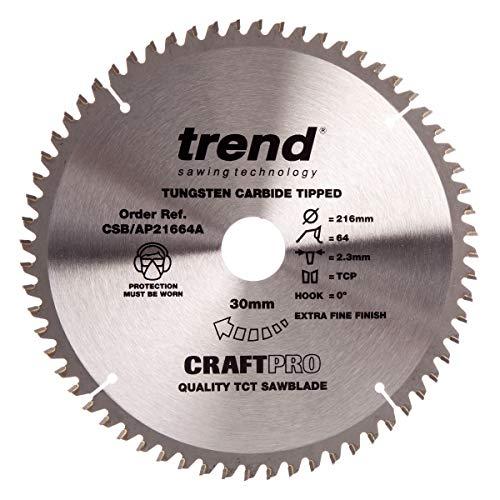 Trend CSB/AP21664A Bastelmesser, TCP 216 mm x 64 mm x 30 mm (Triple-chip-sägeblatt)