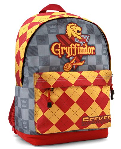 Karactermania Harry Potter Quidditch Gryffindor Mochila Tipo Casual, 4