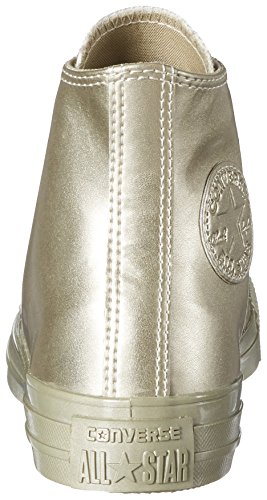 Converse Unisex-Erwachsene Chuck Taylor All Star Hohe Sneaker Gold (Light Gold/Light Gold)