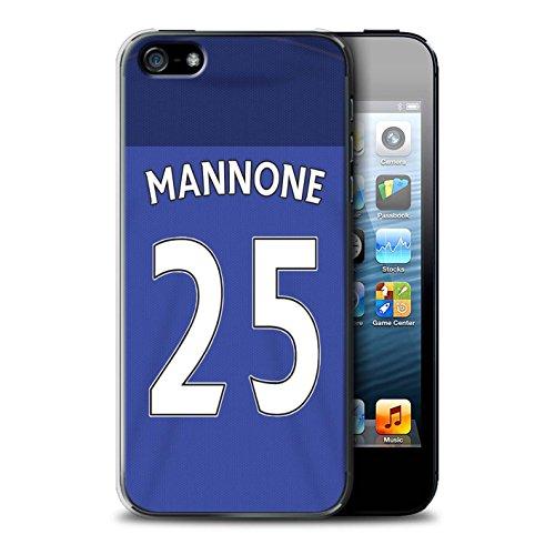 Officiel Sunderland AFC Coque / Etui pour Apple iPhone SE / Pack 24pcs Design / SAFC Maillot Domicile 15/16 Collection Mannone