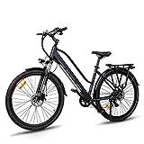 Macwheel Cruiser-550 28' Bici Elettrica da Trekking, Batteria Rimovibile agli Ioni di Litio da 36 V/10 Ah, Sospensione Anteriore, Freni a Doppio Disco, Bicicletta Elettrica per Adulto Unisex