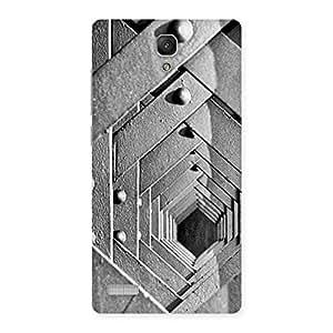 Premium Cage Hexa Back Case Cover for Redmi Note 4
