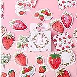 PiniceCore Strawberry Cheese Einschuss Journal Dekorative Sticker Scrapbooking DIY Tagebuch Album-Stock-Lable
