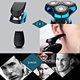 Electric Shaver for Men Rotary Shavers Electric Razor Waterproof Hair Clipper Trimmer