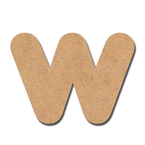 Canevas pour enfant Loisirs créatifs - Lettre en bois 7 cm W