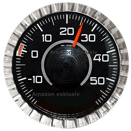 Preisvergleich Produktbild Original 1976 Bimetall Thermometer von HR mit Magnet und Halter Art. 2800