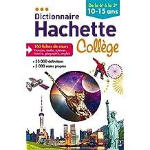 Dictionnaire Hachette Collège by Bénédicte Gaillard (2014-06-11)