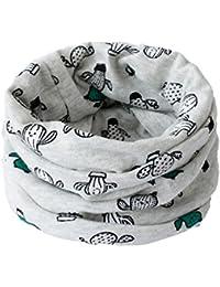 Demarkt Belle Écharpe de Pur Coton Warm and Windproof Collar Foulards Elégant Écharpe Accessoire Automne Hiver pour Bébé Enfants